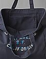 GAP Women Blue Large Logo Tote Bag