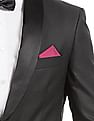 Arrow Printed Woven Pocket Square