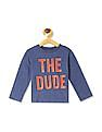 The Children's Place Blue Toddler Boy Long Sleeve 'The Dude' Graphic T-Shirt
