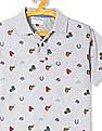 U.S. Polo Assn. Kids Boys Short Sleeve Printed Polo Shirt