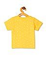 Donuts Boys Contrast Pocket Printed T-Shirt
