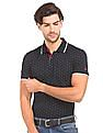 Izod Dot Print Slim Fit Polo Shirt