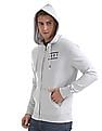 Aeropostale Rear Print Hooded Sweatshirt