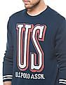 U.S. Polo Assn. Denim Co. Regular Fit Round Neck Sweater