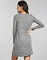 GAP Softspun Knit Long Sleeve Swing Dress