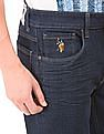 U.S. Polo Assn. Denim Co. 3D Whiskered Jeans