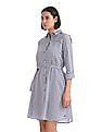U.S. Polo Assn. Women Stripe Shirt Dress