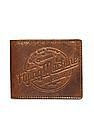Flying Machine Textured Leather Wallet