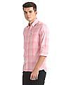 Arrow Sports Slim Fit Patterned Weave Shirt