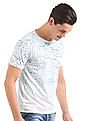 Colt Slim Fit Splatter Print T-Shirt