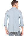 Ed Hardy Washed Slim Fit Chambray Shirt