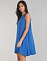 GAP Women Blue Swing Tank Dress