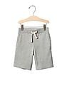 GAP Baby Grey Solid Pull On Shorts