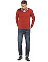 Arrow Sports Solid Lambswool Blend Sweater