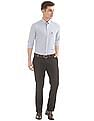 USPA Tailored Flat Front Slim Fit Trousers
