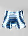 GAP Boys Assorted Blue Striped Trunks - Pack Of 5