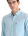U.S. Polo Assn. Button Down Collar Tailored Regular Fit Shirt