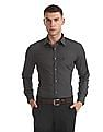 USPA Tailored Tailored Regular Fit Solid Shirt