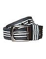 Colt Striped Panel Belt