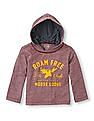 The Children's Place Baby Boy Marled Hooded T-Shirt