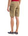 Arrow Sports Flat Front Regular Fit Chino Shorts