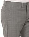 Excalibur Patterned Classic Fit Trousers