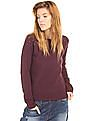 EdHardy Women Patterned Knit Studded Sweater