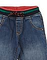 Cherokee Boys Drawstring Waist Slim Fit Jeans