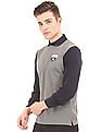 Gant Long Sleeve Colour Block Polo Shirt