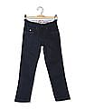 U.S. Polo Assn. Kids Boys Skinny Fit Dark Washed Jeans