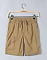 GAP Toddler Boy Brown Zip Pull-On Shorts