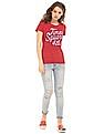 Aeropostale Applique Front Regular Fit T-Shirt