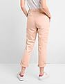 GAP Girlfriend Chinos With Eyelet Embroidery